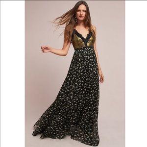 NWT Ranna Gill Lakshmi Maxi dress size 0 D1